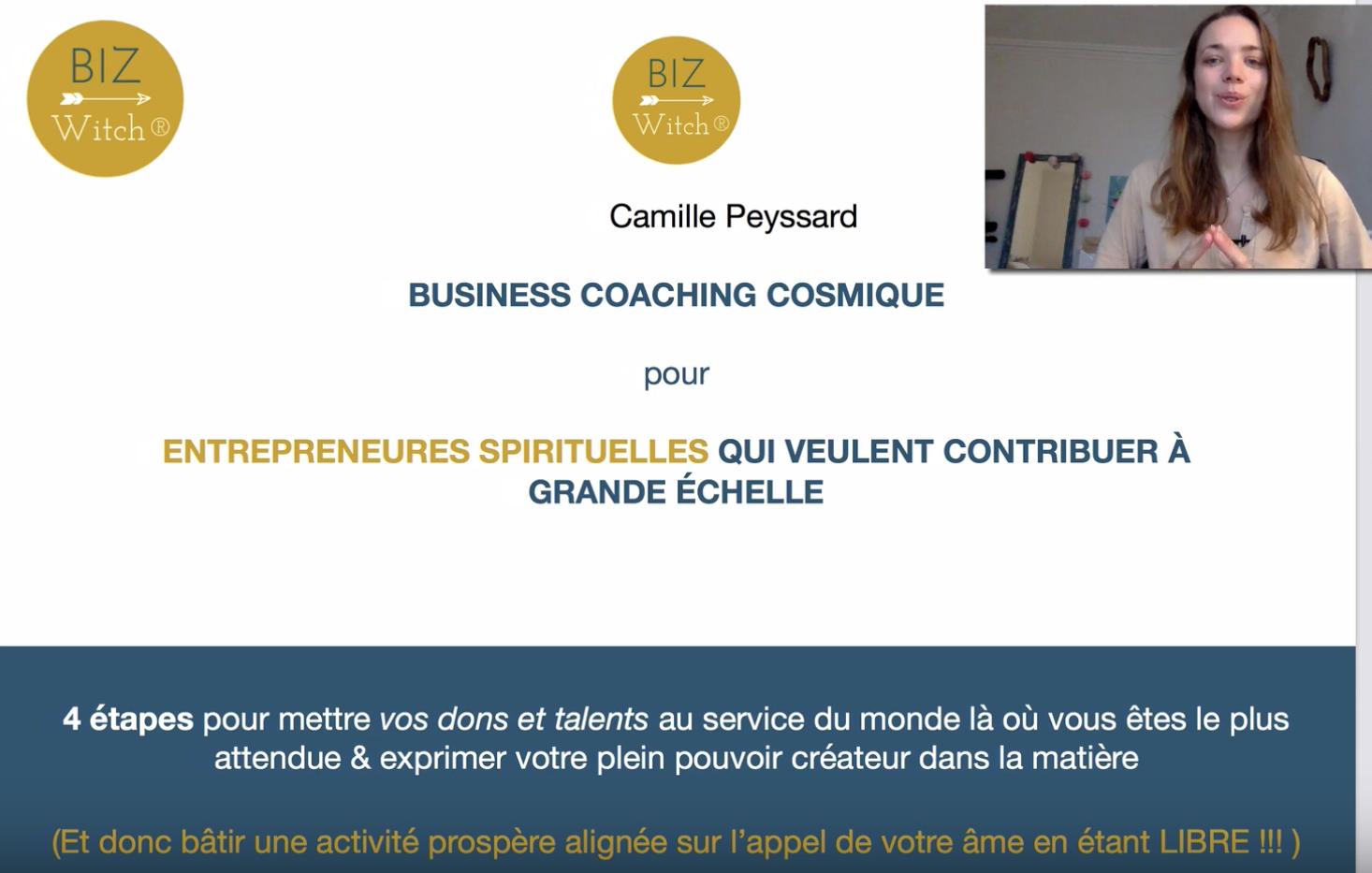 entrepreneure spirituelle