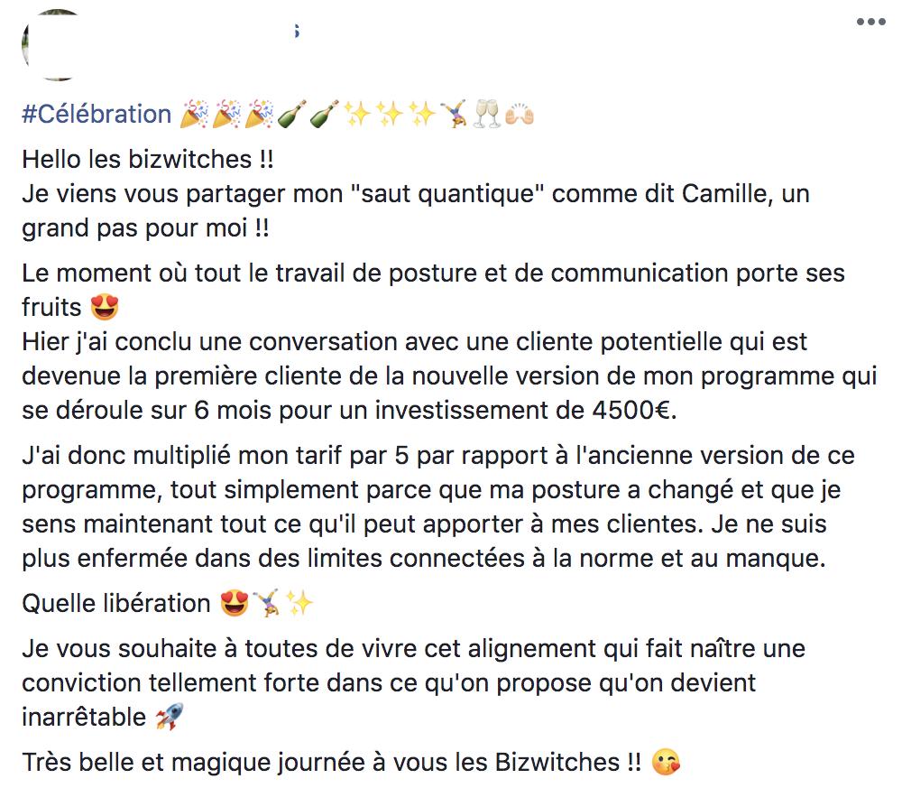 Vente 4500€ Blandine